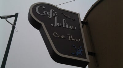 Photo of Cafe Café Jolie at 1500 Webster St, Alameda, CA 94501, United States