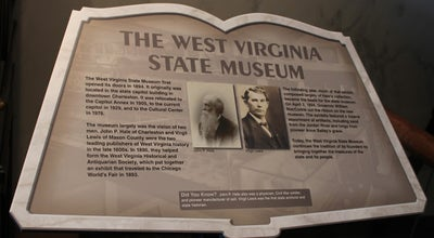 Photo of History Museum West Virginia State Museum at 1900 Kanawha Blvd E, Charleston, WV 25305, United States
