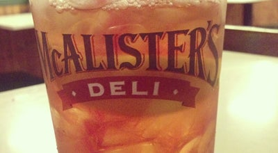 Photo of American Restaurant McAlister's Deli at 1106 Sawmill Rd, Laurel, MS 39440, United States