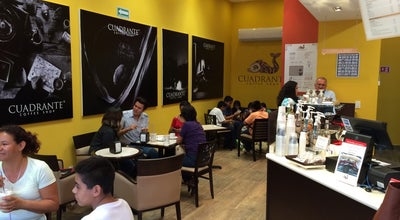 Photo of Cafe Cuadrante Coffee Shop at Eje Norte-sur No 2. Plaza Cedros. Local 30. Civac, Jiutepec 62578, Mexico