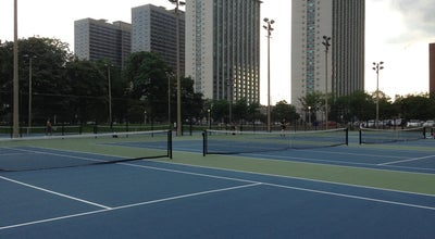 Photo of Tennis Court Waveland Tennis Courts at Waveland Ave, Chicago, IL 60613, United States