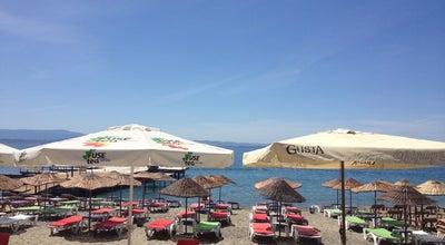 Photo of Beach Melisa Cafe & Beach at Altınoluk, Turkey