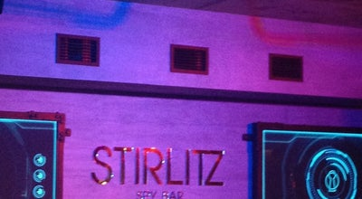 Photo of Cocktail Bar STIRLITZ spy bar at Октябрьская Ул., 23, Минск, Belarus