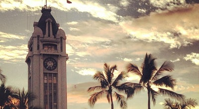 Photo of Monument / Landmark Aloha Tower at 1 Aloha Tower Dr, Honolulu, HI 96813, United States