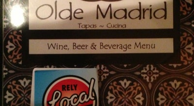 Photo of Tapas Restaurant Olde Madrid at 418 6th St, Racine, WI 53403, United States