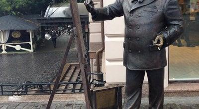 Photo of Monument / Landmark Пам'ятник художнику Рошковичу / Painter Roshkovych Monument at Наб. Рошковича, Ужгород 88000, Ukraine