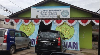 Photo of Soup Place Soto Ayam Suroboyo Cak Hari at Jl. Gatot Subroto No. 87, Banjarmasin, Indonesia