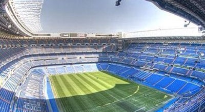 Photo of Soccer Stadium Estadio Santiago Bernabéu at Av. De Concha Espina, 1, Madrid 28036, Spain