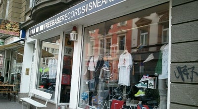 Photo of Record Shop Freebase Records & Sneakers at Brückenstraße 36, Frankfurt Am Main, Germany