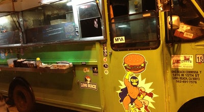 Photo of Food Truck el burger luchador at Los Angeles, CA 90036, United States