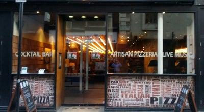 Photo of Italian Restaurant B-SOHO Pizzeria & Cocktail Bar at 21 Poland Street, London W1F 8QQ, United Kingdom