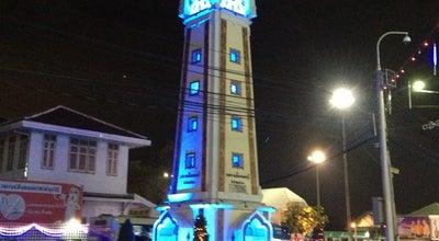 Photo of Monument / Landmark หอนาฬิกาจังหวัดนนทบุรี (Nonthaburi Clock Tower) at Pracha Rat Rd, Mueang Nonthaburi 11000, Thailand