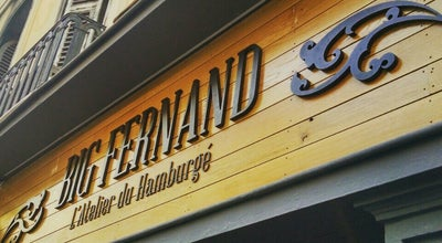 Photo of Burger Joint Big Fernand Nice at 52 Rue Gioffredo, Nice 06000, France