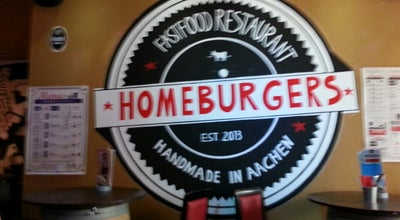 Photo of Burger Joint Homeburgers at Komphausbadstr. 25, Aachen 52062, Germany