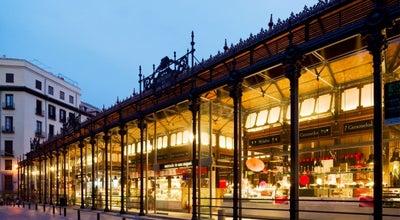 Photo of Market Mercado de San Miguel at Pl. De San Miguel, Madrid 28004, Spain