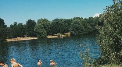 Photo of Lake Dietenbachsee at Besançonallee, Freiburg 79114, Germany