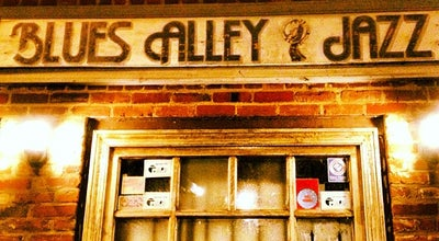 Photo of Jazz Club Blues Alley at 1073 Wisconsin Ave Nw, Washington, DC 20007, United States