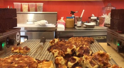 Photo of Dessert Shop Nina's Waffles & Ice Cream at 30 E State St, Doylestown, PA 18901, United States