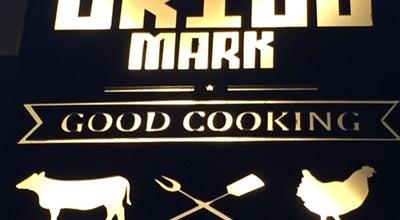 Photo of New American Restaurant grill mark at Jordan