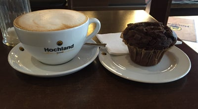 Photo of Cafe Hochland Kaffee Bar at Luisenstr. 16, Darmstadt 64283, Germany