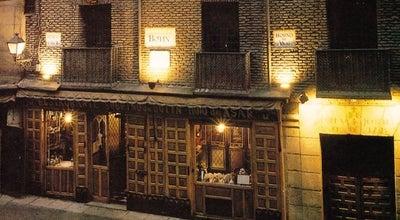 Photo of Spanish Restaurant Restaurante Botín at C. De Cuchilleros, 17, Madrid 28005, Spain