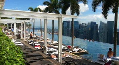Photo of Hotel Pool Rooftop Infinity Pool at Level 57, Marina Bay Sands Hotel, Singapore 018956, Singapore