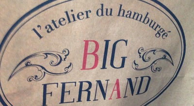 Photo of American Restaurant Big Fernand at 20 Rue Au Pain, Versailles 78000, France