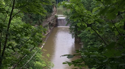 Photo of Lake Second Dam at Ithaca, NY