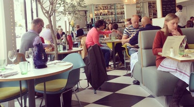 Photo of Modern European Restaurant Kensington Place at 201-209 Kensington Church Street, London W8 7LX, United Kingdom