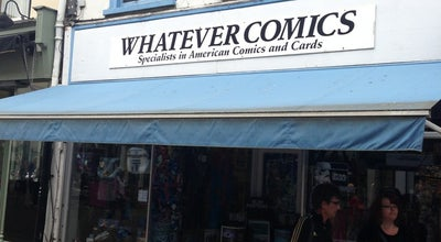 Photo of Bookstore Whatever comics at Canterbury, United Kingdom