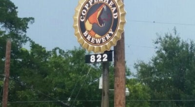 Photo of Brewery Copperhead Brewery at 822 N Frazier St, Conroe, TX 77301, United States