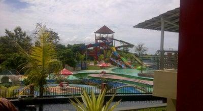 Photo of Pool Waterpark Taman Wisata Bumi Kedaton at Jl. Wa Rahman, Bandar lampung, Indonesia
