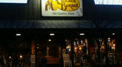 Photo of American Restaurant Cracker Barrel Old Country Store at 110 Northpointe Blvd. I-80 & Cassopolis Street, Elkhart, IN 46514, United States