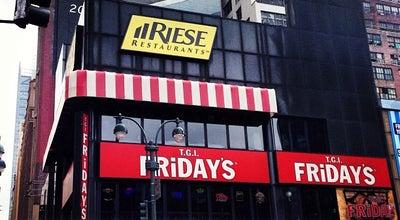 Photo of American Restaurant TGI Fridays at 484 8th Ave, New York, NY 10001, United States