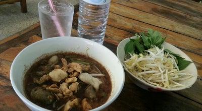 Photo of Asian Restaurant ก๋วยเตี๋ยวเรือร้อยชาม at ท่าวัง 80000, Thailand