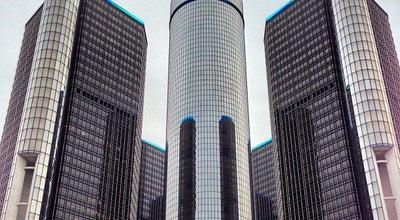 Photo of Building GM Renaissance Center at Towers 100-600 Renaissance Center, Detroit, MI 48226, United States