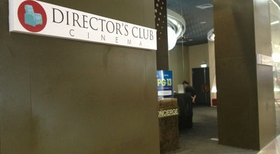Photo of Movie Theater Director's Club Cinema at 4th Flr, Sm Aura Premier, Taguig City, Philippines