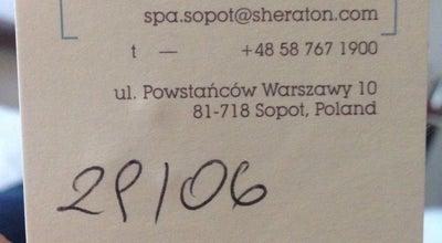 Photo of Spa Sheraton Spa at Powstańców Warszawy 10, Sopot 81-718, Poland