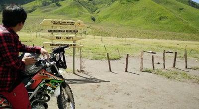 Photo of Field Padang Rumput Savana at Taman Nasional Gunung Bromo, Probolinggo, Indonesia