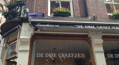 Photo of Sandwich Place De Drie Graefjes at Eggertstraat 1, Amsterdam 1012 NN, Netherlands