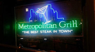 Photo of Steakhouse Metropolitan Grill at 820 Second Avenue, Seattle, WA 98104, United States