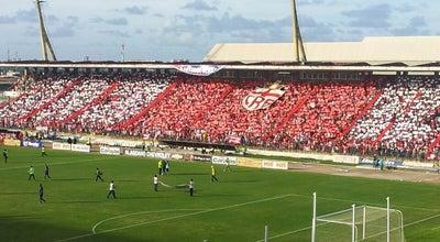 Photo of Soccer Stadium Estádio Rei Pelé at Av. Siqueira Campos, Maceió, Brazil