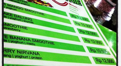 Photo of Juice Bar Prema Smoothie Juice at Jalan Raya Padang Luwih, Dalung, Kuta, Indonesia