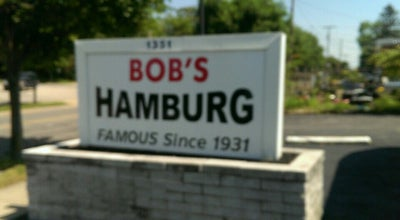 Photo of American Restaurant Bob's Hamburg at 1351 East Ave, Akron, OH 44307, United States