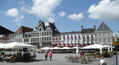"Photo of Cafe Grand Café Hotel ""De Bourgondiër"" at Grote Markt 2-3, Bergen op Zoom 4611 NR, Netherlands"