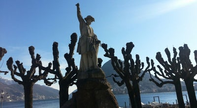 Photo of Monument / Landmark Monumento all'Indipendenza del Ticino  at Piazza Indipendenza, Lugano, Switzerland