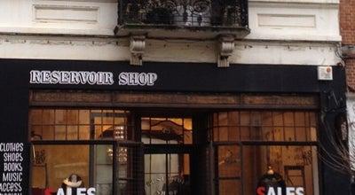 Photo of Boutique Reservoir Shop at Rue Lesbroussartstraat 43a, Elsene / Ixelles 1050, Belgium