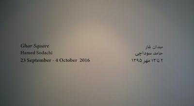 Photo of Art Gallery O Gallery | نگارخانه اُ at 46 Khosrow Aly., Villa St., Tehrān, Iran
