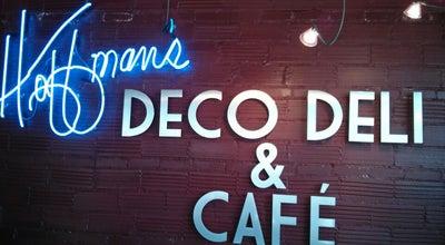 Photo of Sandwich Place Hoffman's Deco Deli & Café at 503 Garland St, Flint, MI 48503, United States