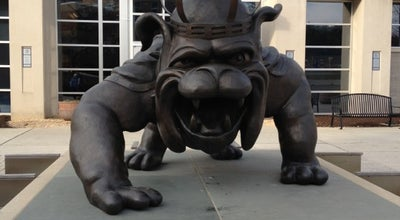 Photo of Outdoor Sculpture Duke Dog Statue at Harrisonburg, VA 22801, United States